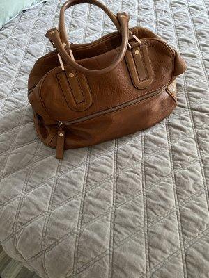 Longchamp Bolso coñac Cuero