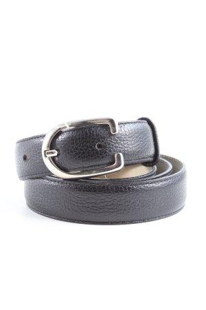 Longchamp Leather Belt black business style