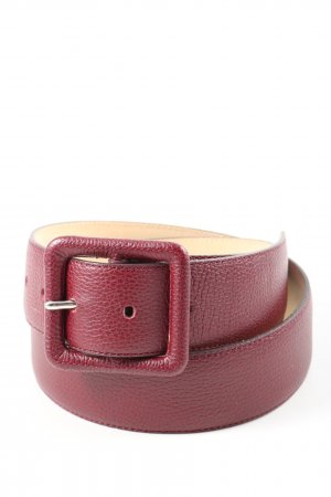 Longchamp Leather Belt red casual look