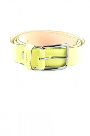 Longchamp Leather Belt primrose casual look