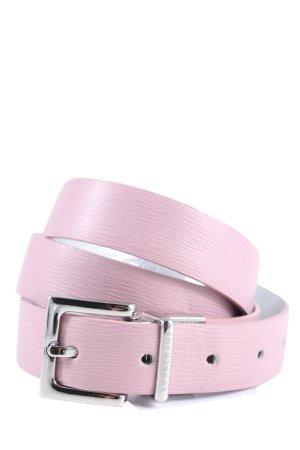 Longchamp Lederimitatgürtel pink Business-Look