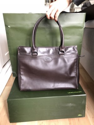 Longchamp Ledertasche Businessbag
