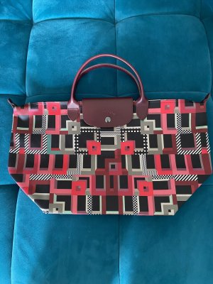 Longchamp Limited Edition Abstract Tote