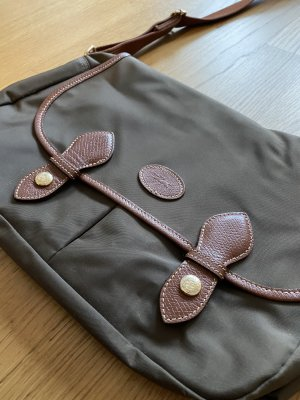 Longchamp Messenger-/ Umhängetasche Le Pliage Nylon Khaki