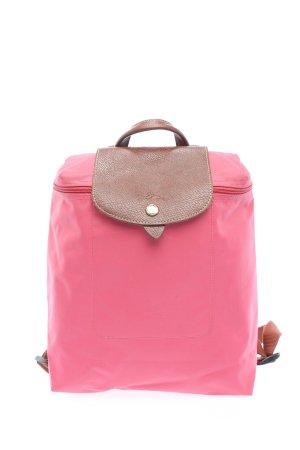 Longchamp Mini-Rucksack pink-braun Casual-Look