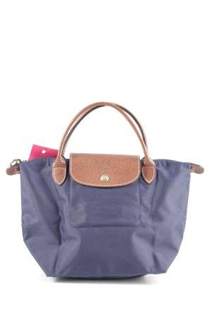 Longchamp Minitasche blau-nude Animalmuster Casual-Look
