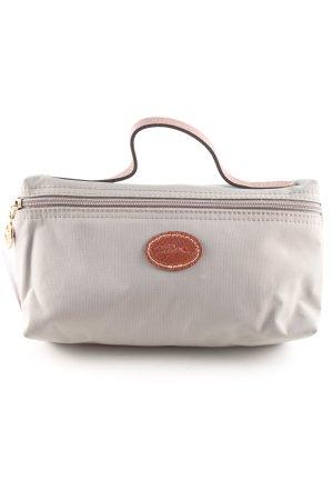 Longchamp Mini sac gris clair-brun style décontracté