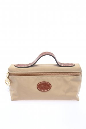 Longchamp Minibolso crema-marrón look casual