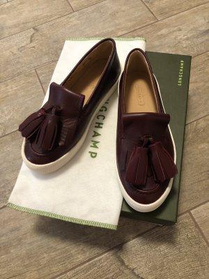 Longchamp Mocasines burdeos