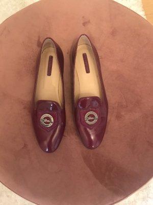 Longchamp Mokassins Lackleder