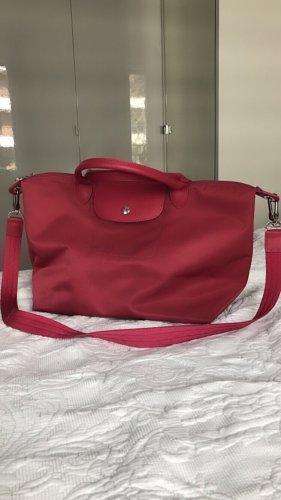 Longchamp Shopper raspberry-red-pink
