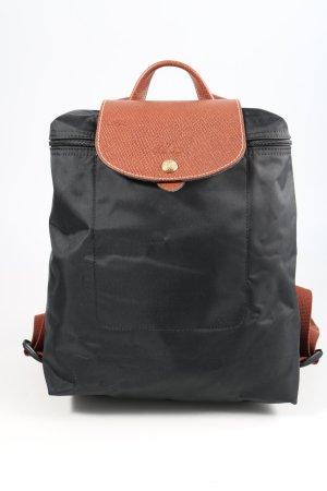 Longchamp Notebookrucksack schwarz-braun Casual-Look