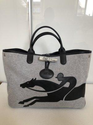 Longchamp Heuptasjes zwart-grijs