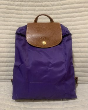 Longchamp Laptop Backpack dark violet-lilac