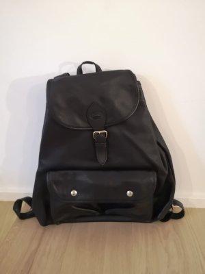 Longchamp Plecak na kółkach czarny-srebrny
