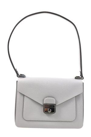Longchamp Schultertasche hellgrau Business-Look
