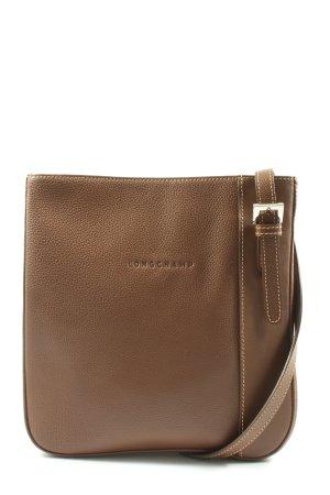 Longchamp Borsa a tracolla marrone stile professionale