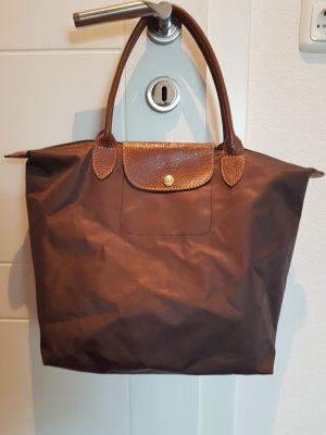 Longchamp Schultertasche Braun  Casual- Lock
