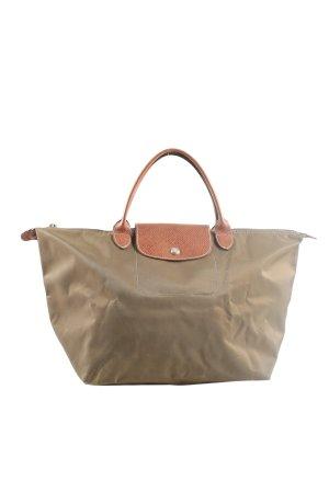 Longchamp Shopper brun style décontracté