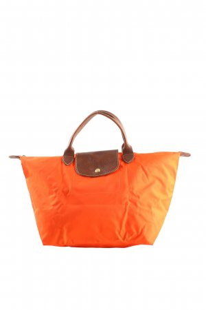 Longchamp Shopper hellorange Casual-Look