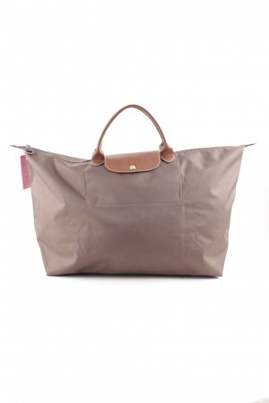 Longchamp Borsa shopper marrone-bronzo stile casual
