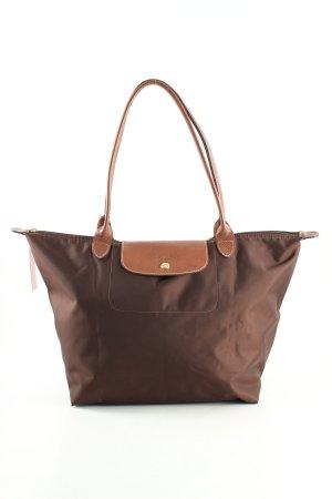 Longchamp Shopper braun Business-Look
