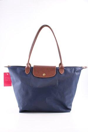 Longchamp Shopper blue-brown casual look
