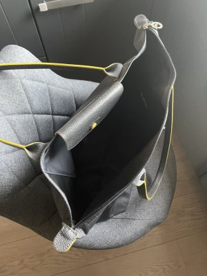 Long  Champ Shopper gris-jaune