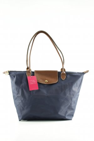 Longchamp Shopper blau-braun Casual-Look
