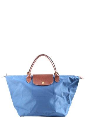 Longchamp Comprador azul-marrón look casual