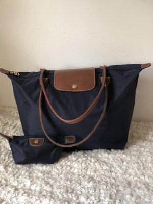 Longchamp Shopper bleu foncé