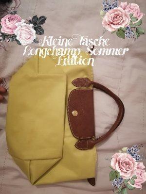 Longchamp Handbag pale yellow