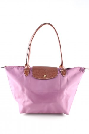 Longchamp Stofftasche pink Casual-Look