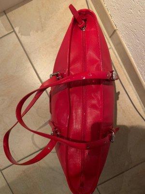 Longchamp Borsa shopper rosso scuro