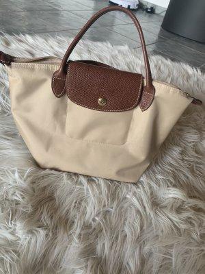 Longchamp Tasche klein braun/beige