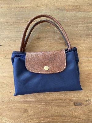 Longchamp Tasche le pliage blau gr M