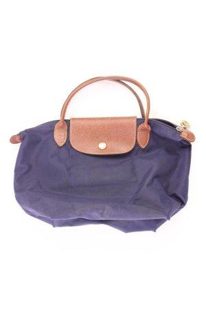 "Longchamp Tasche Le Pliage Modell ""S"" blau aus Polyester"