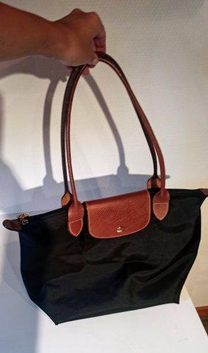 Longchamp Tasche Le Pliage Schwarz Gr. M