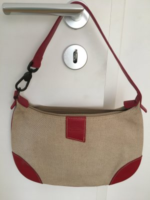 Longchamp Tasche Leder/Canvas