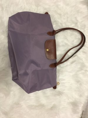 Longchamp Tote bronze-colored-mauve leather