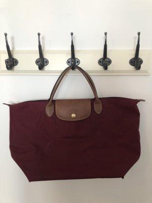 Longchamp Tasche M bordeauxrot