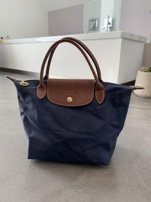 Longchamp Tasche S / navy blau