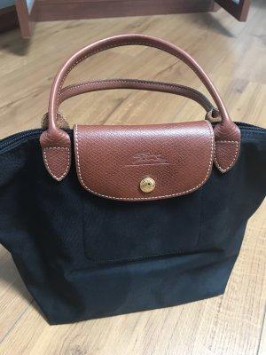 Longchamp Tasche Schwarz/Braun (Leder)