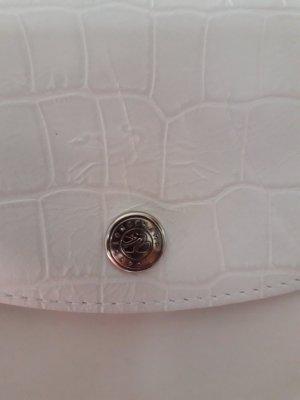 Longchamp Tasche weiss ( Mit Gebrauchsspuren )