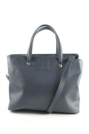 Longchamp Umhängetasche blau Business-Look