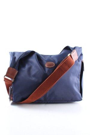 Longchamp Umhängetasche blau Casual-Look