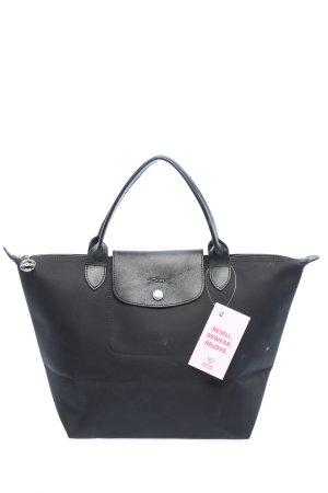 Longchamp Shopper zwart casual uitstraling