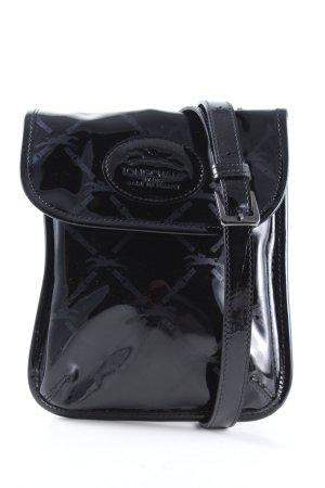 Longchamp Umhängetasche schwarz Casual-Look