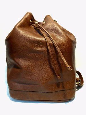 Longchamp Vintage Tasche Beutel aus Leder
