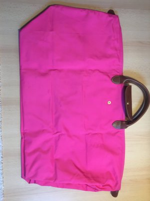 Longchamp Travel Bag magenta-pink nylon